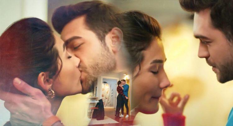 Demir, Selin'i öptü.